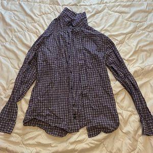 Purple Gap dress shirt, size medium.